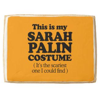 THIS IS MY SARAH PALIN COSTUME - Halloween -.png Jumbo Cookie