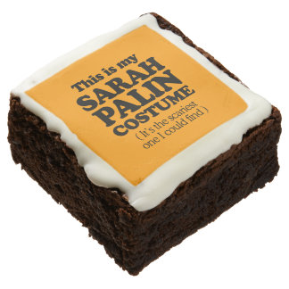 THIS IS MY SARAH PALIN COSTUME - Halloween -.png Square Brownie