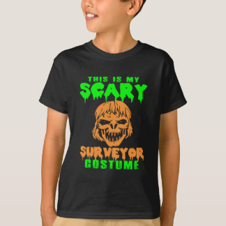 This Is My Scary Surveyor Halloween Costume T-Shirt
