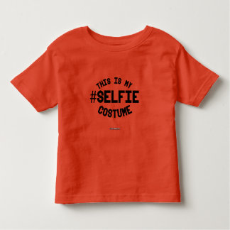 This is my Selfie Costume Toddler T-shirt