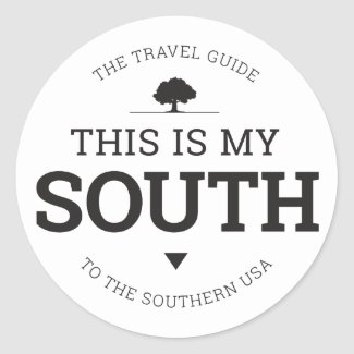 This Is My South Circle Stickers