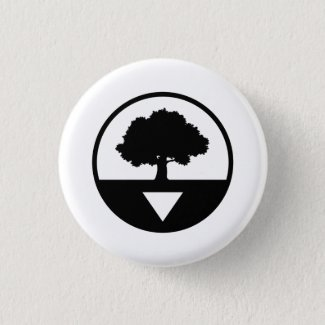 This Is My South White Button
