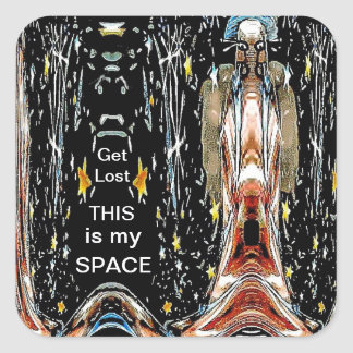 This is My Space Sticker