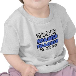This Is My Spanish Teacher Costume T-shirts