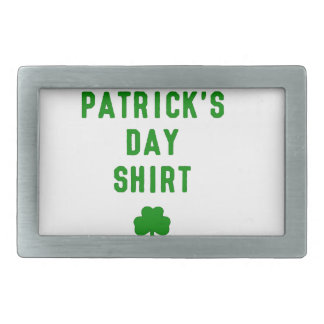 THIS IS MY ST. PATRICK'S DAY SHIRT G BELT BUCKLE
