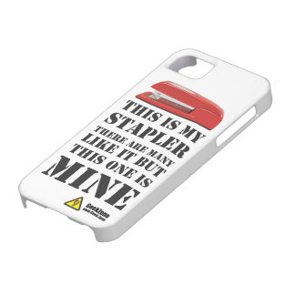This is My Stapler by GeekZone iPhone 5 Case