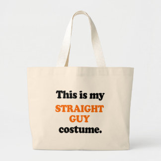 This is my Straight Guy Costume Canvas Bags
