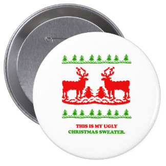 This is my ugly Christmas Sweater Pins
