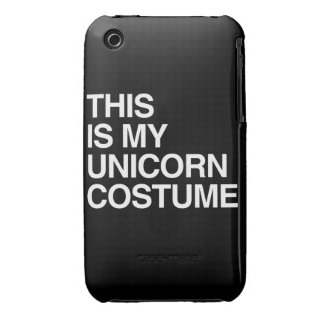 THIS IS MY UNICORN HALLOWEEN COSTUME iPhone 3 Case-Mate CASES