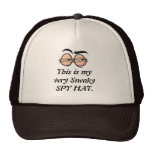 This is my very Sneaky SPY HAT.