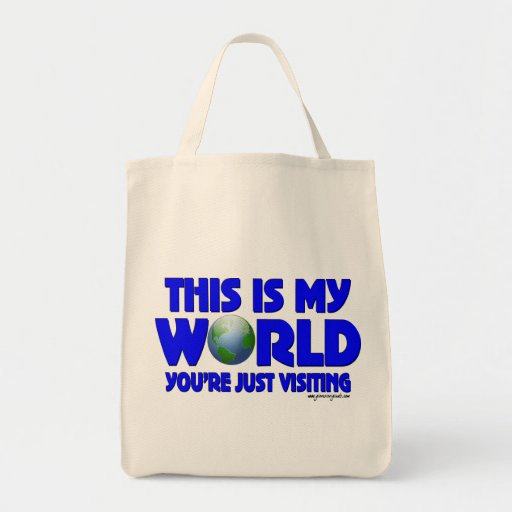 This is my world tote bag