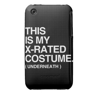THIS IS MY X-RATED COSTUME Case-Mate iPhone 3 CASES