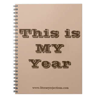 This is MY Year Notebook