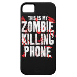 This is my Zombie killing Phone keep calm and kill iPhone 5 Covers