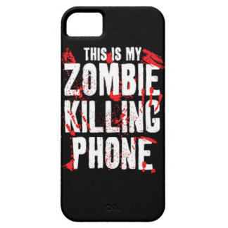 This is my Zombie killing Phone keep calm and kill iPhone SE/5/5s Case