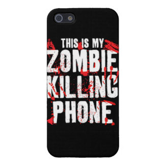 This is my zombie killing phone undead walkers wal cover for iPhone SE/5/5s