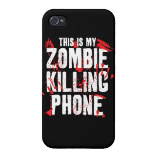 This is my zombie killing phone undead walkers wal iPhone 4/4S cover