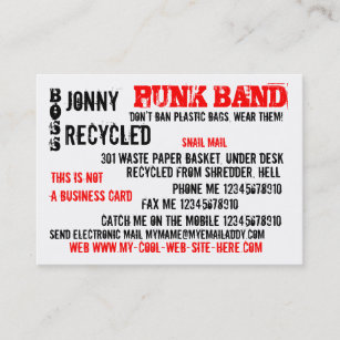 Boring business cards zazzle this is not a boring business card colourmoves