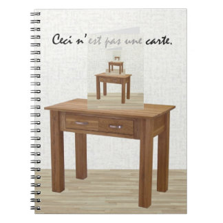 This Is Not A Card But A Spiral Notebook