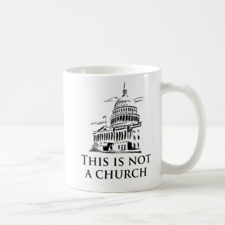 this is not a church coffee mug