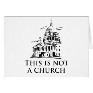 this is not a church greeting cards