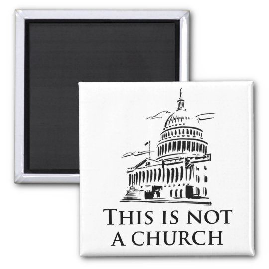 This is not a church magnet
