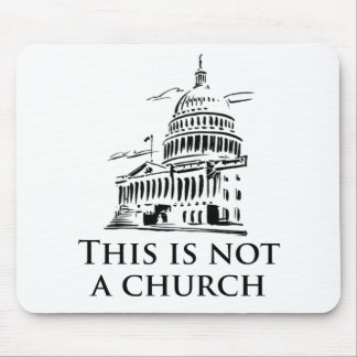 this is not a church mouse pad