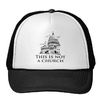 this is not a church trucker hat