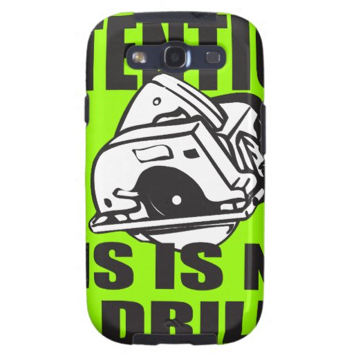 THIS IS NOT A DRILL T-SHIRT AND GIFTS SAMSUNG GALAXY SIII CASE