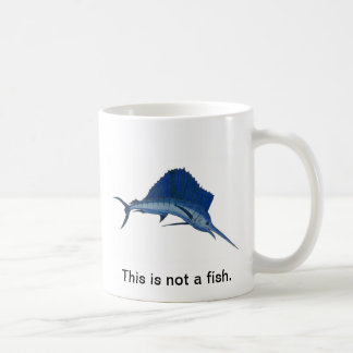 This is not a fish coffee mug