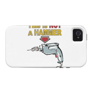 This is NOT a Hammer - Funny Word Play Saying iPhone 4/4S Cover