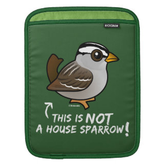 This is NOT a House Sparrow! iPad Sleeve