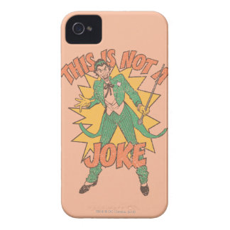 This Is Not A Joke iPhone 4 Case