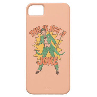 This Is Not A Joke iPhone SE/5/5s Case