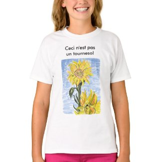 This is not a Sunflower t-shirt