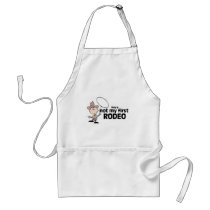 This Is Not My First Rodeo Adult Apron