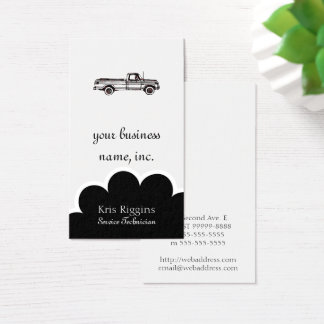 This Is Not My Pickup Business Card