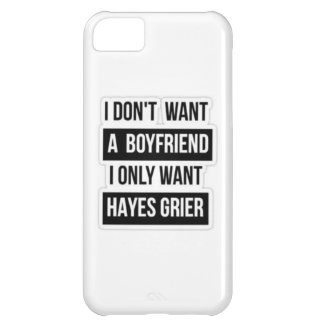 this is one for the grier girls iPhone 5C case