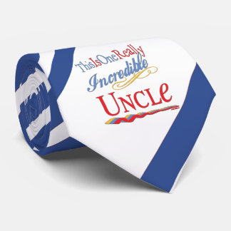 This Is One Really Incredible Uncle Gift Neck Tie