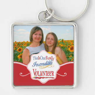 This Is One Really Incredible Volunteer Gift Keychain