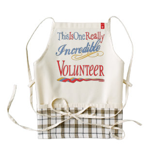 This Is One Really Incredible Volunteer Gift Zazzle HEART Apron