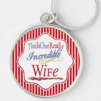 This Is One Really Incredible Wife Gift Series Keychain