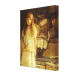 This is Our Corner by Sir Lawrence Alma Tadema Gallery Wrapped Canvas