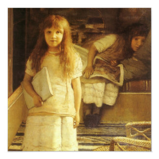 This is Our Corner by Sir Lawrence Alma Tadema Card