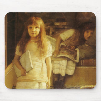 This is Our Corner by Sir Lawrence Alma Tadema Mouse Pad