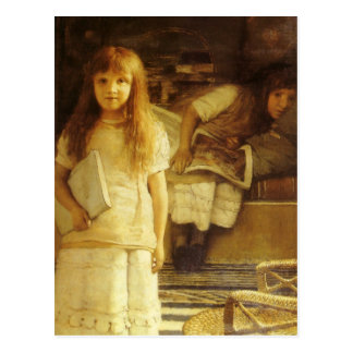This is Our Corner by Sir Lawrence Alma Tadema Post Card