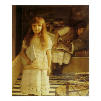 This is Our Corner by Sir Lawrence Alma Tadema Poster