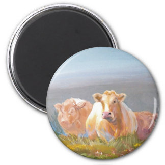 This is our turf! 2 inch round magnet