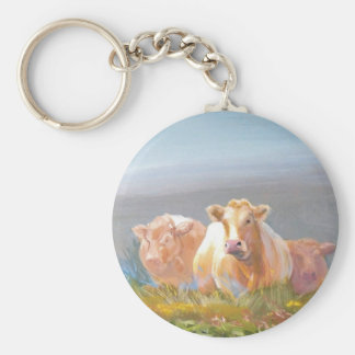 This is our turf! basic round button keychain