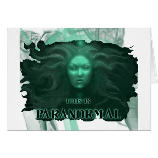 This Is Paranormal- MintyGreen Card
